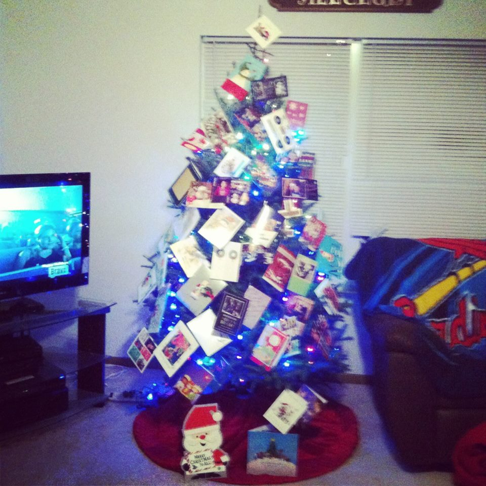 christmas tree - last year